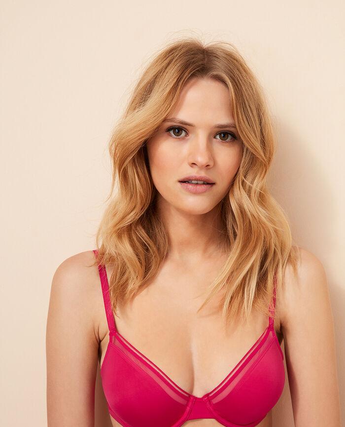 Underwired bra Bling pink Make up