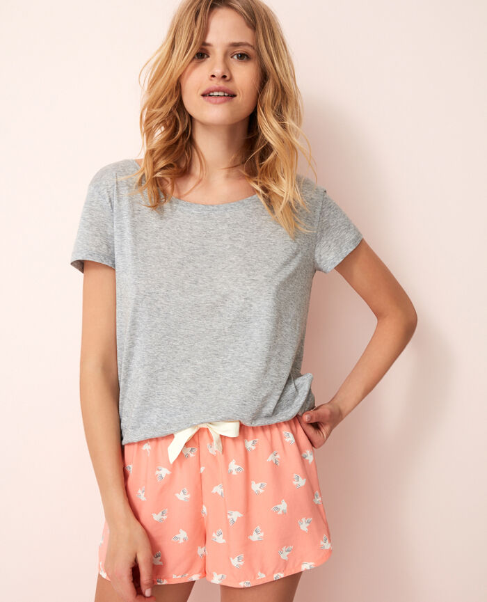 Short de pyjama Olympe rose Darling