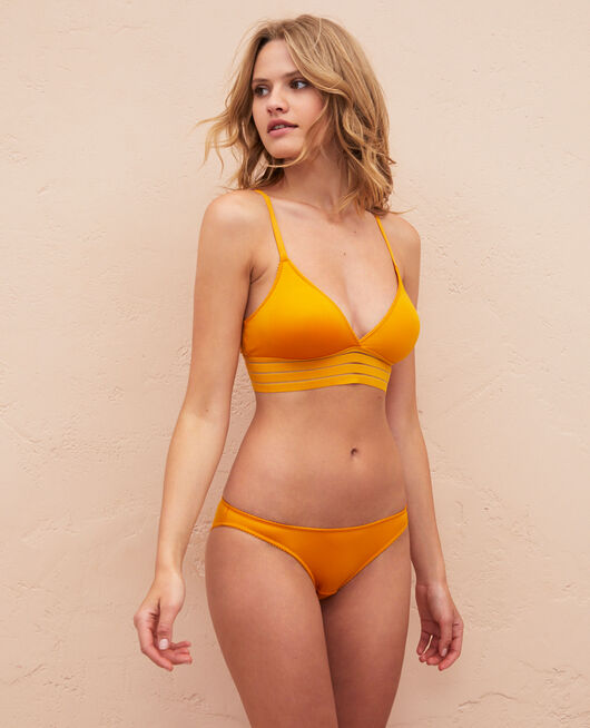 Soft cup bra Sahara yellow Air lingerie