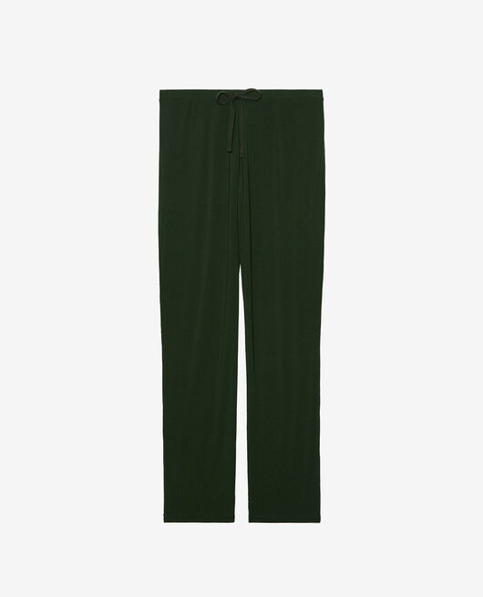 Trousers Cypress green Douceur