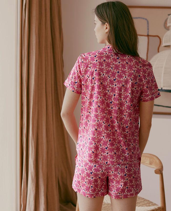 Set pyjama Pamplemousse bleu marine Tutti frutti