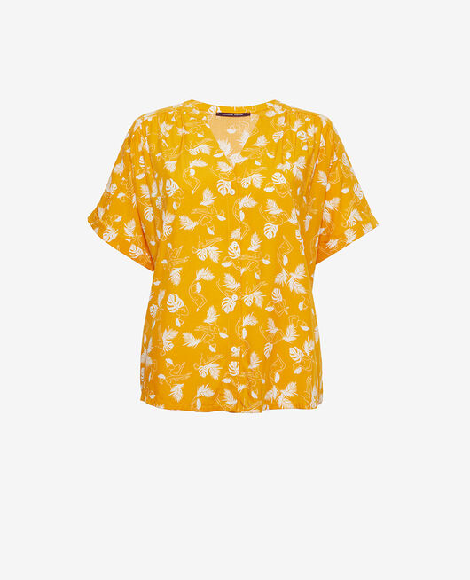 Pyjama jacket Hammam yellow Bahia