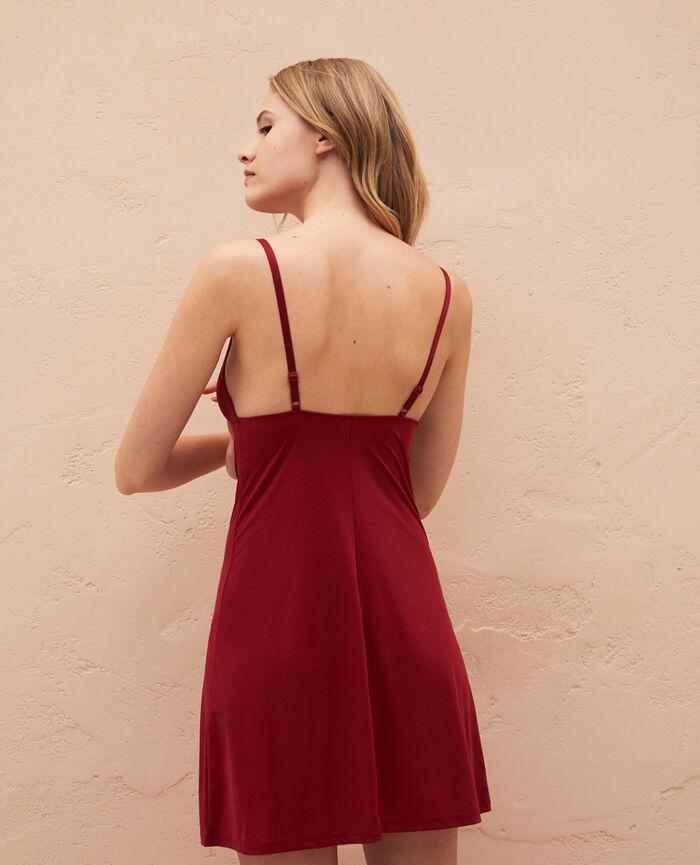 Slip dress Henne brown Take away