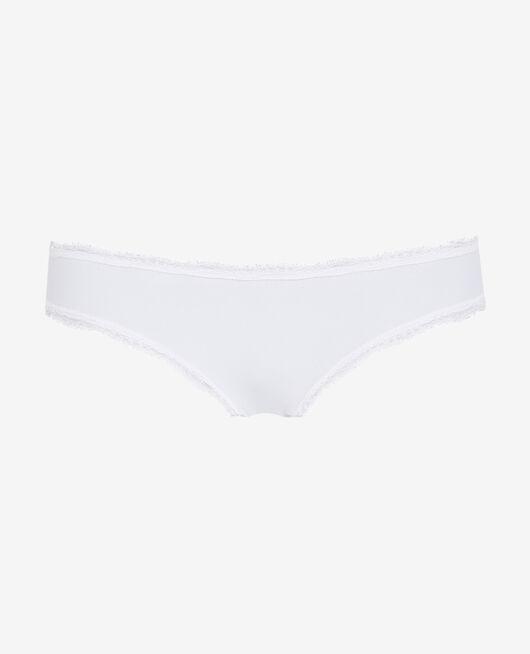 Culotte taille basse Blanc Take away