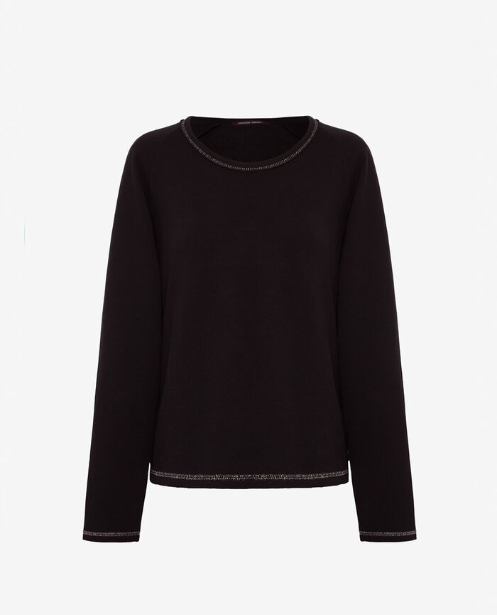 Sporty sweater Black Moove