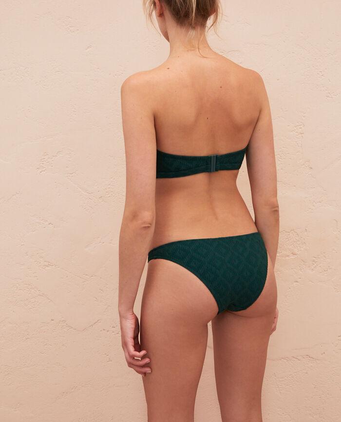 Bikini slip Ceramic green Yugi
