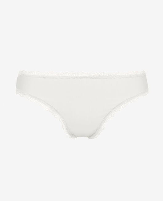 Culotte taille basse Ivoire Take away