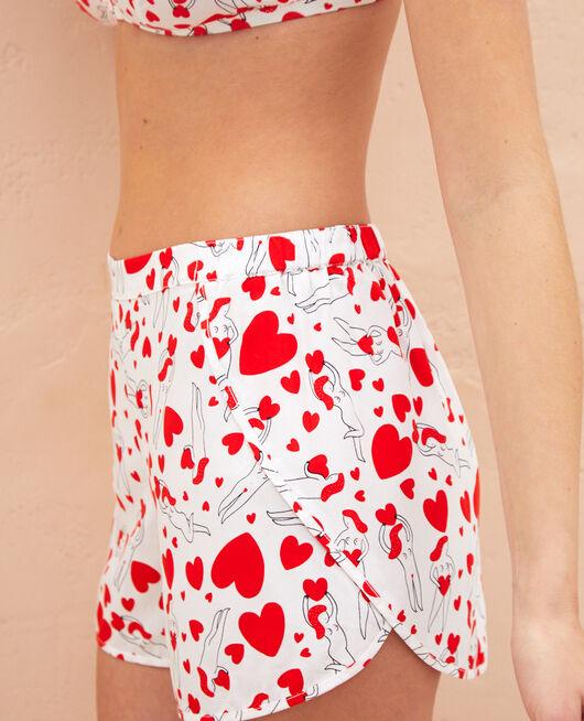 Short de pyjama Agathe ivoire A la folie