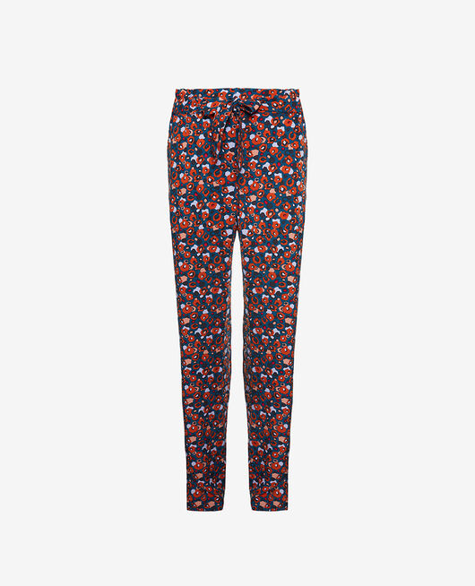 Trousers Leo blue Crepuscule