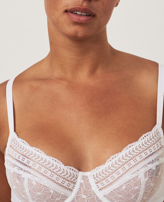 Underwired bra White Duo