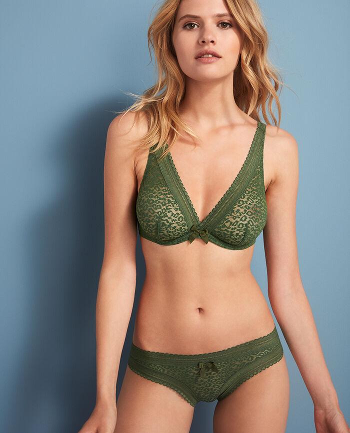 Shorty brésilien Vert agency Belle