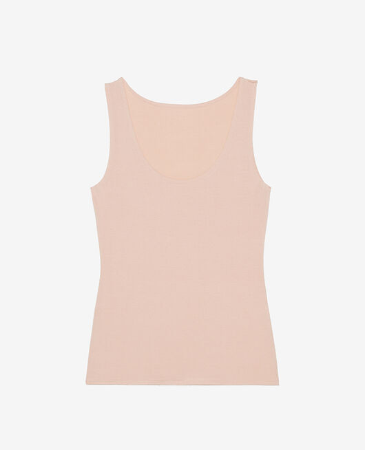 Vest top Powder beige Heattech® innerwear