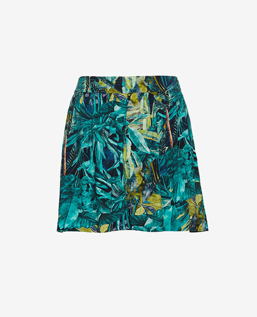 Short de pyjama Palme bleu Fancy viscose