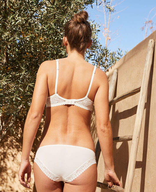 Hipster briefs Rose white Josephine