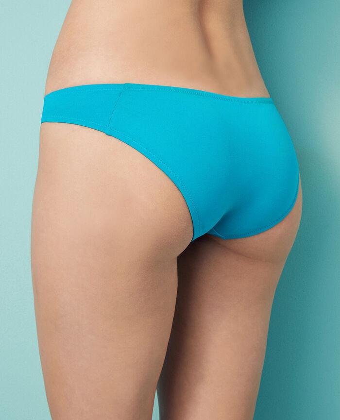 High-cut bikini briefs Turquoise Princesse tam.tam x uniqlo
