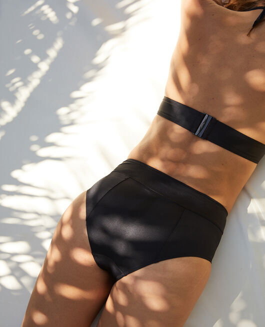 High-waisted swim briefs Black Impala