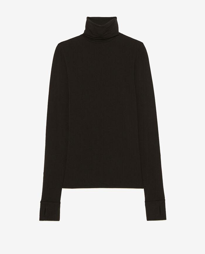 T-shirt manches longues Noir Heattech® lounge