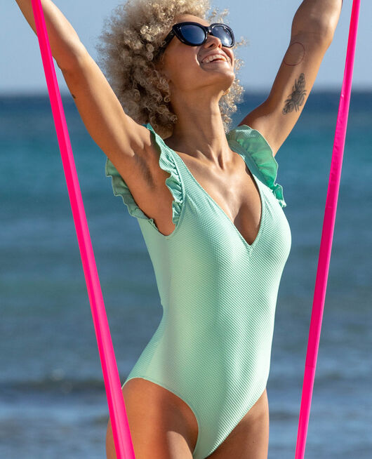 Swimsuit Ether green Farah