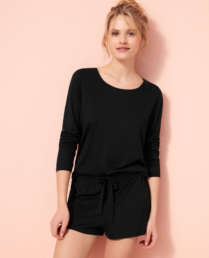 Pyjama shorts Black Latte