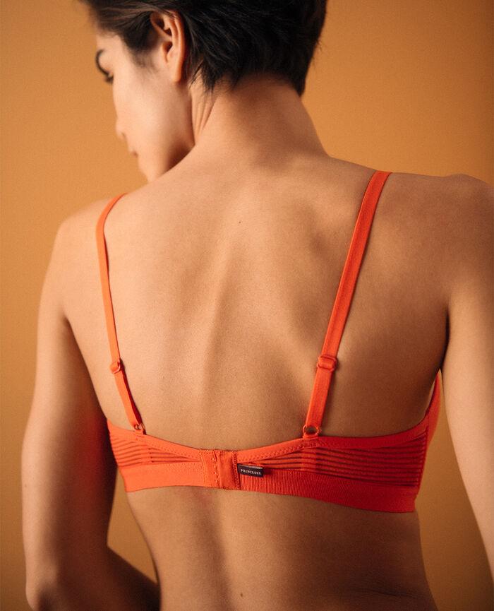 Wireless padde bra Spicy orange Horizon - the be cool