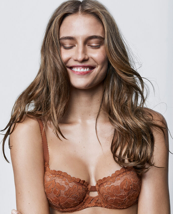 Soutien-gorge corbeille Ginger bread Angelina
