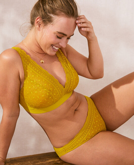 Culotte taille basse Vert anis Duo