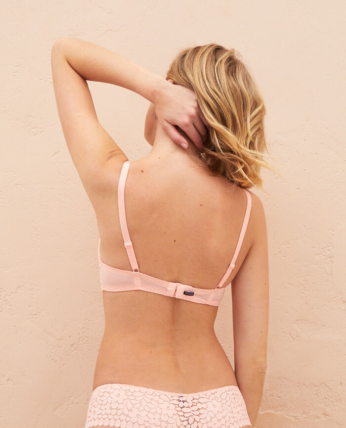 Soutien-gorge push-up mousses Rose gazelle Monica