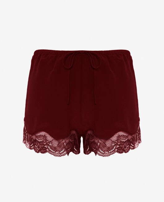Pyjama shorts Cassis red Divine
