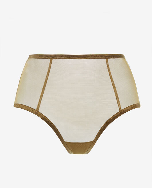 High-waisted briefs Green bowie Pure