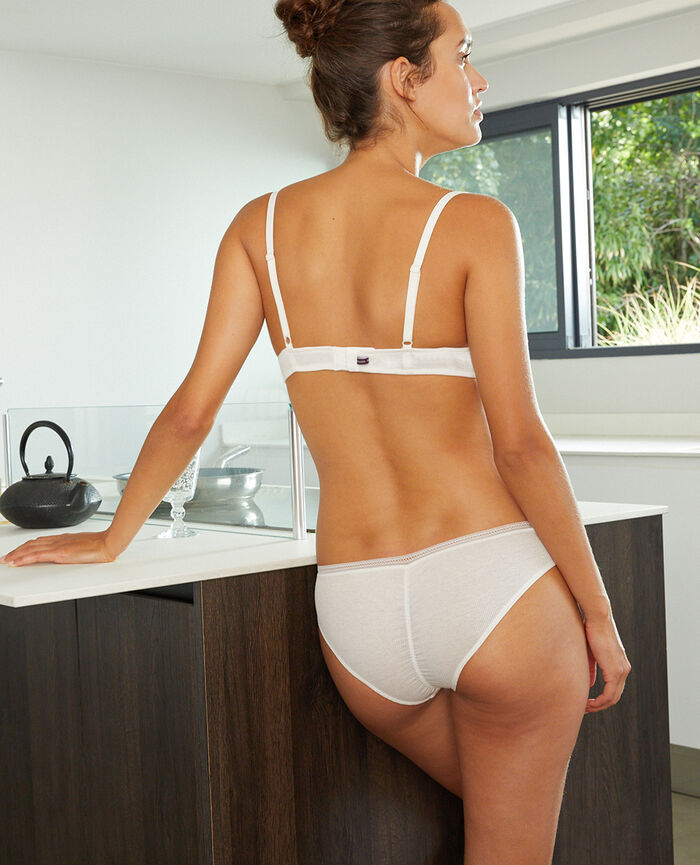 Soft cup padde bra Rose white Cosy