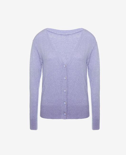 Long-sleeved cardigan Fantaisie violet Sweet