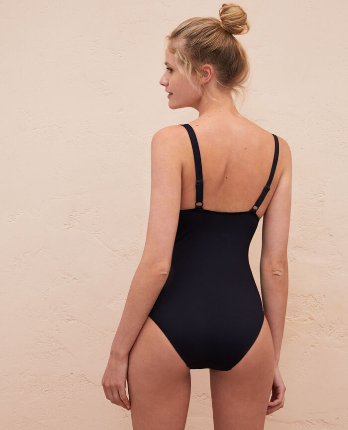 Concealed underwired swimsuit Black Impala