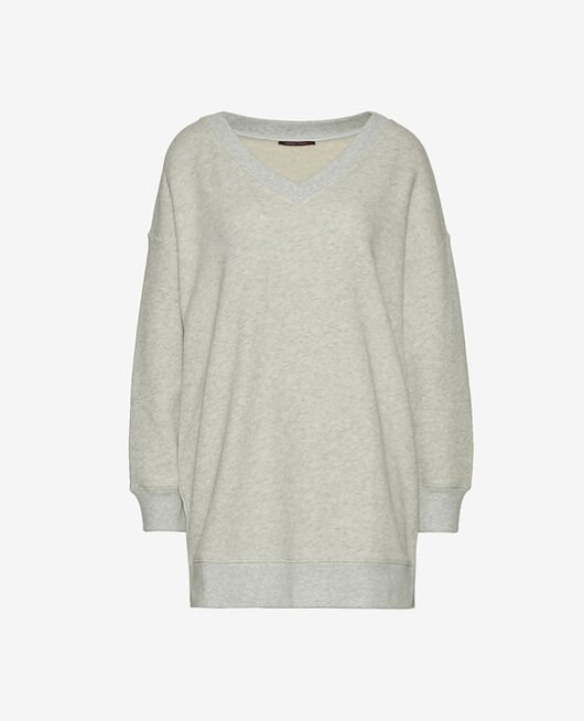 Long-sleeved tunic Flecked grey Doudou