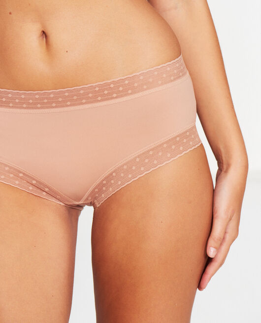 High-waisted briefs Beige latte Infiniment