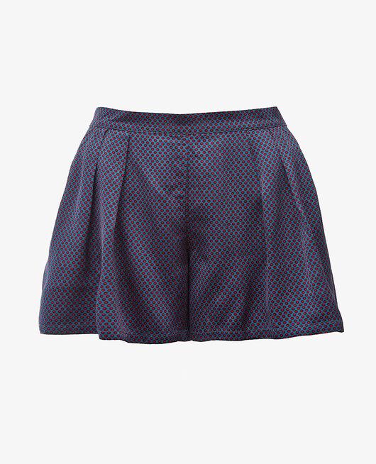 Short de pyjama Pois bleu Aurore