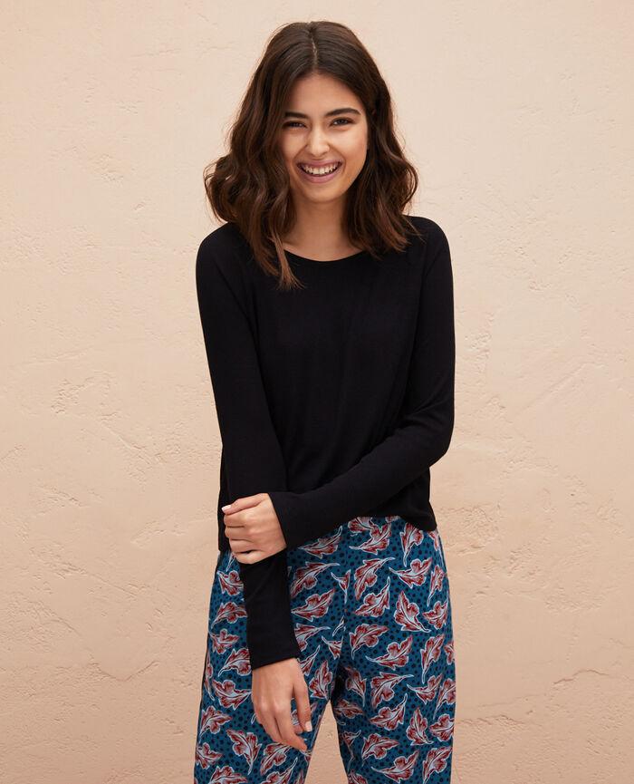 Long sleeve t-shirt Black Latte
