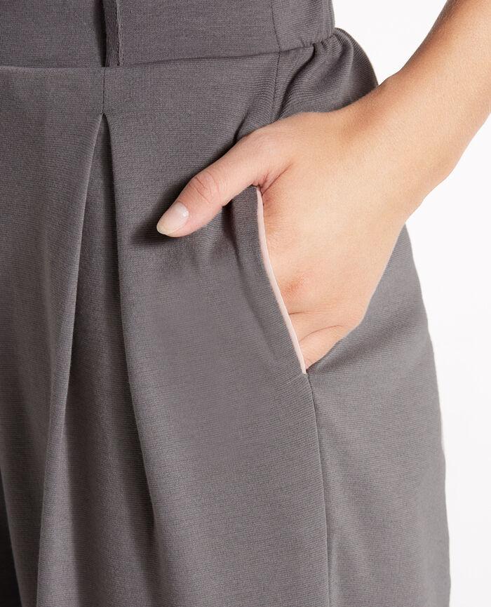 Gaucho pants Steel grey Neptune