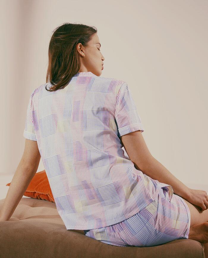 Pyjama set Ivory weft Tutti frutti
