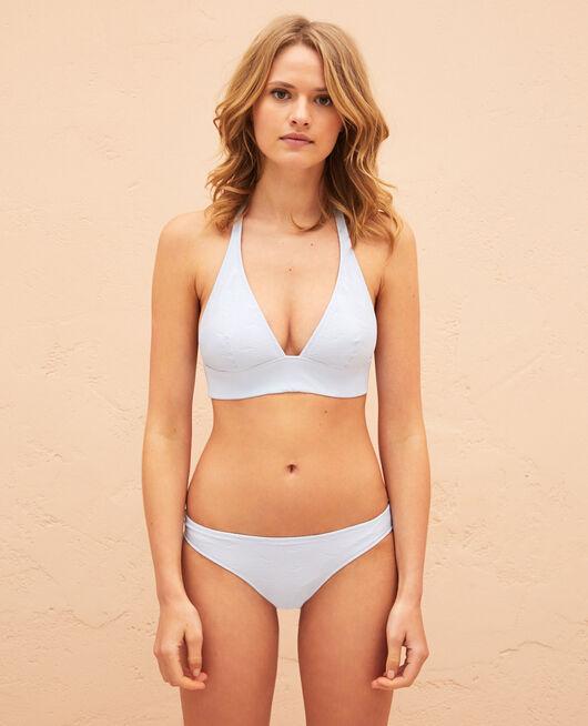 Triangle bikini top Sky blue Niala