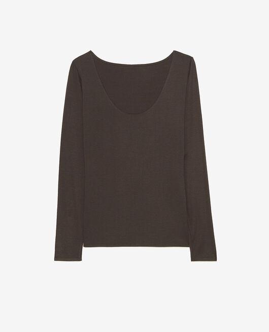 T-shirt manches longues Gris fumé Heattech® innerwear