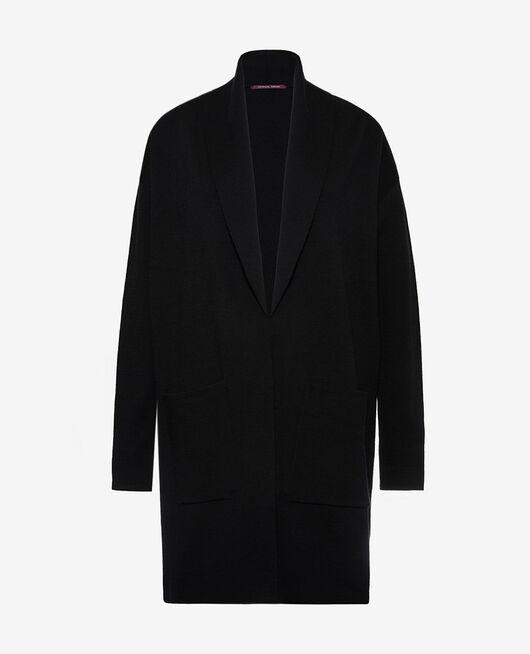 Medium-length jacket Black Soft