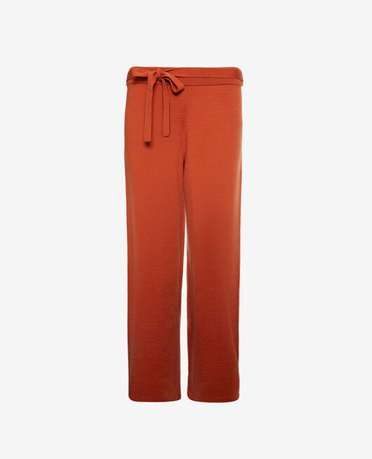 Trousers Cognac brown Soft