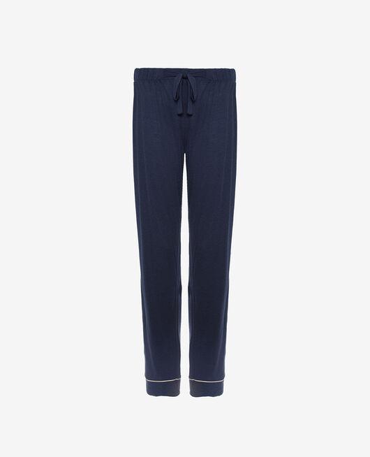 Pyjama trousers Navy blue Latte