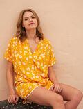 Pyjama jacket Hammam yellow Bahia