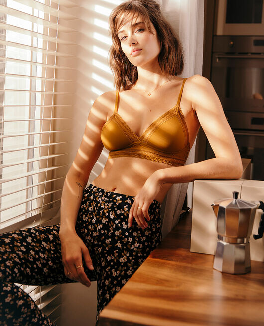 Triangle padde bra Cocktail brown Eclat