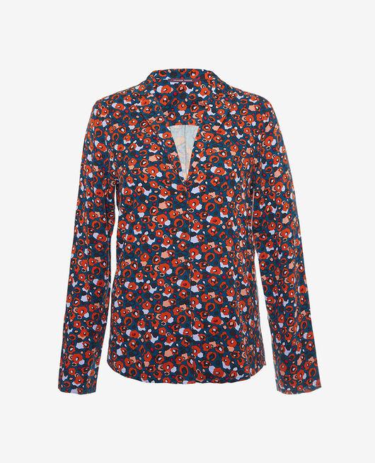 Pyjama jacket Leo blue Crepuscule