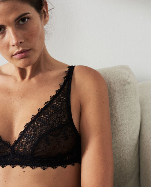 Wireless bra Black Amour
