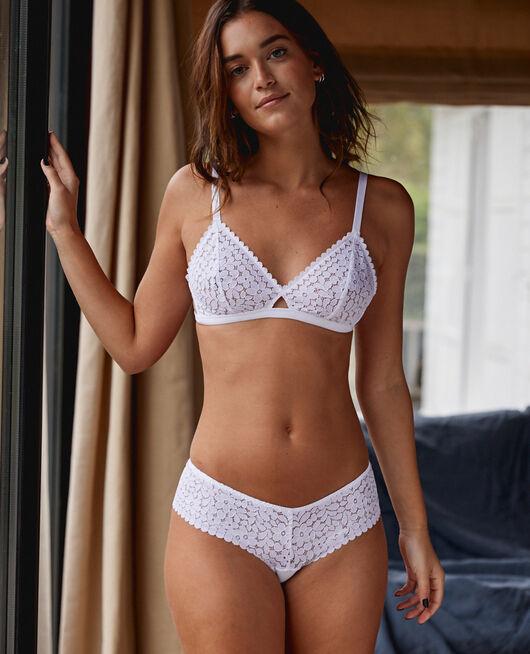 Shorty brésilien Blanc Monica