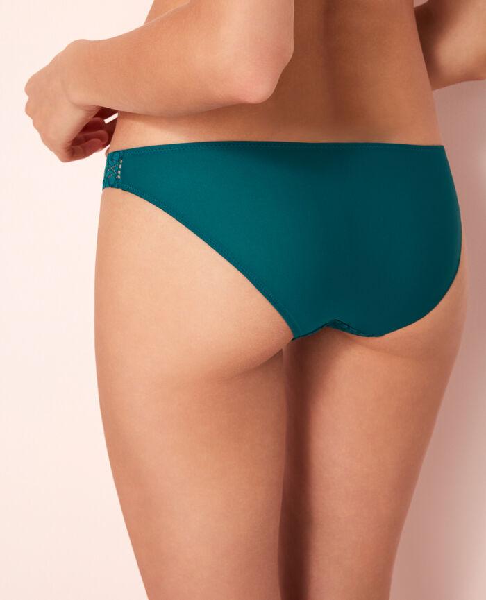 Culotte taille basse Vert mezcal Evasion