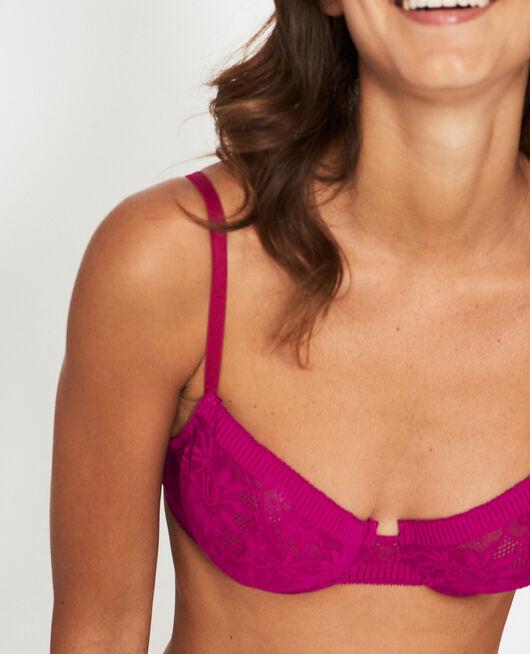Half-cup bra Crocus purple Audacieusement